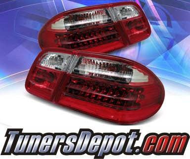 KS® Gen 2 LED Tail Lights (Red/Clear) - 96-02 Mercedes Benz E420 Sedan W210