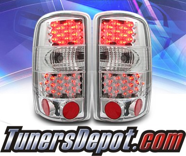 KS® LED Tail Lights - 00-06 GMC Yukon Denali (w/o Barn Doors)