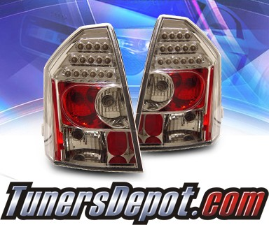 2006 chrysler 300 ks led tail lights 03 chr32003tledac. Black Bedroom Furniture Sets. Home Design Ideas