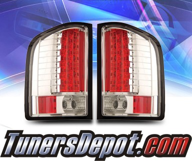 KS® LED Tail Lights - 07-13 Chevy Silverado Pickup Truck