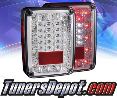 KS® LED Tail Lights - 07-13 Jeep Wrangler
