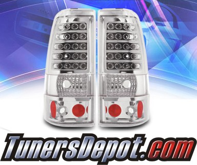 KS® LED Tail Lights - 2007 Chevy Silverado Dualie Classic