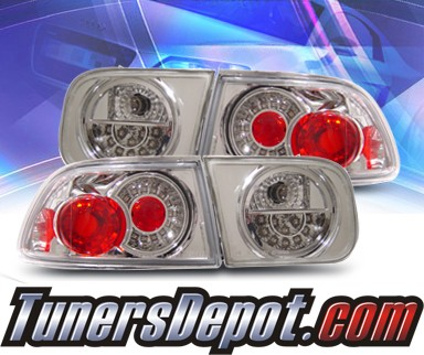KS® LED Tail Lights - 92-95 Honda Civic 2/4dr.