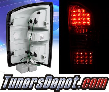 KS® LED Tail Lights (All Chrome) - 14-15 GMC Sierra