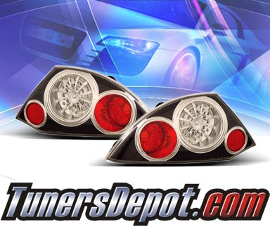 KS® LED Tail Lights (Black) - 00-02 Mitsubishi Eclipse