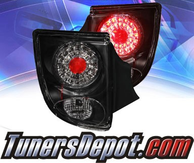 KS® LED Tail Lights (Black) - 00-05 Toyota Celica