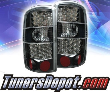 KS® LED Tail Lights (Black) - 00-06 Chevy Tahoe