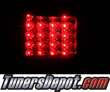 KS® LED Tail Lights (Black) - 01-02 Toyota 4Runner