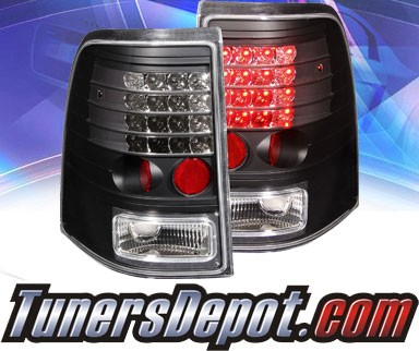 KS® LED Tail Lights (Black) - 02-05 Ford Explorer