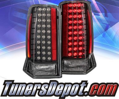 KS® LED Tail Lights (Black) - 02-06 Cadillac Escalade