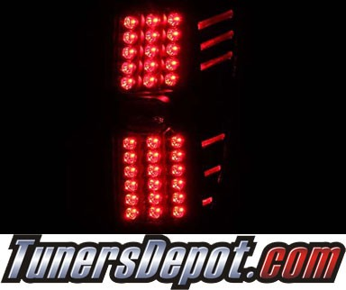 KS® LED Tail Lights (Black) - 02-06 Chevy Avalanche