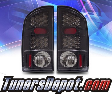 KS® LED Tail Lights (Black) - 02-06 Dodge Ram