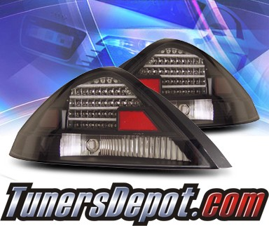 KS® LED Tail Lights (Black) - 03-05 Honda Accord 2dr.