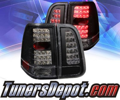 KS® LED Tail Lights (Black) - 03-06 Lincoln Navigator