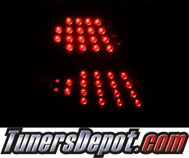 KS® LED Tail Lights (Black) - 04-07 Pontiac Grand Prix