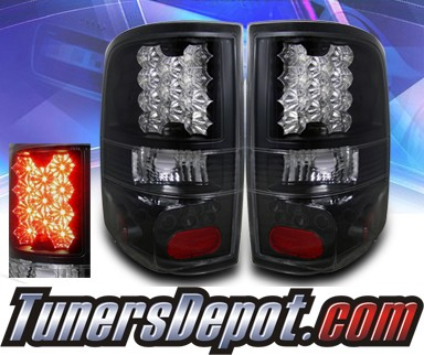 KS® LED Tail Lights (Black) - 04-08 Ford F-150 F150