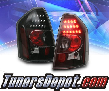 KS® LED Tail Lights (Black) - 05-07 Chrysler 300