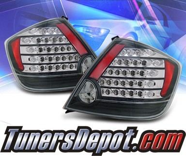 KS® LED Tail Lights (Black) - 05-07 Scion TC