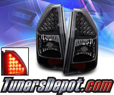 KS® LED Tail Lights (Black) - 05-08 Dodge Magnum