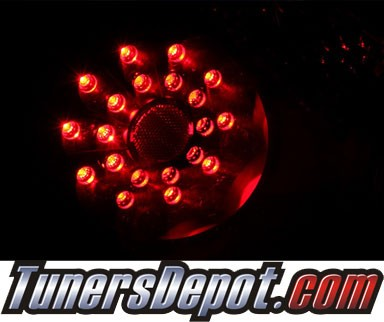 KS® LED Tail Lights (Black) - 07-10 Nissan Altima 2dr