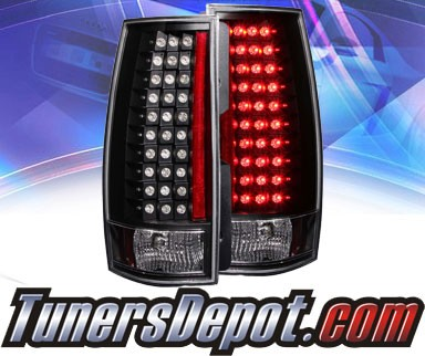 KS® LED Tail Lights (Black) - 07-13 Chevy Suburban (G4)