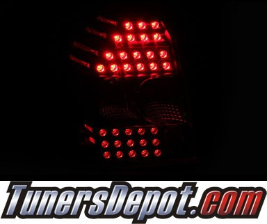 KS® LED Tail Lights (Black) - 07-13 Dodge Caliber
