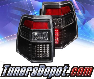KS® LED Tail Lights (Black) - 07-13 Ford Expedition