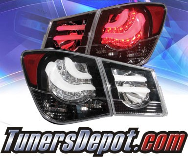 KS® LED Tail Lights (Black) - 11-15 Chevy Cruze