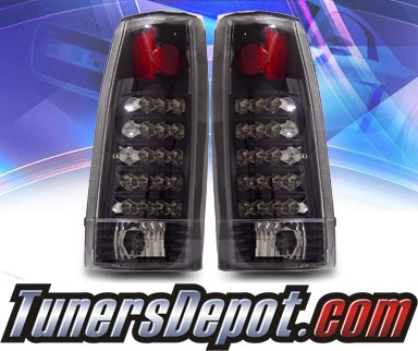 KS® LED Tail Lights (Black) - 88-98 Chevy Full Size Pickup