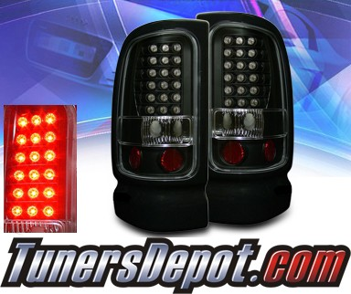 KS® LED Tail Lights (Black) - 94-01 Dodge Ram