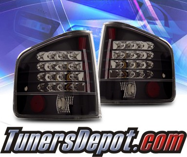KS® LED Tail Lights (Black) - 94-04 GMC Sonoma