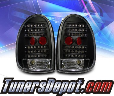 KS® LED Tail Lights (Black) - 96-00 Dodge Caravan