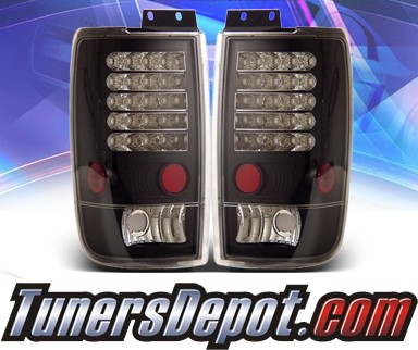 KS® LED Tail Lights (Black) - 97-02 Ford Expedition