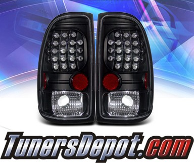 KS® LED Tail Lights (Black) - 97-04 Dodge Dakota