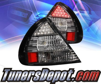 KS® LED Tail Lights (Black) - 97-98 Mitsubishi Mirage