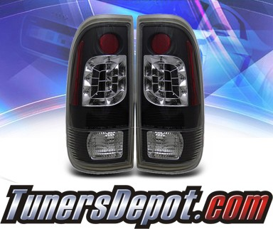KS® LED Tail Lights (Black) - 99-06 Ford F-350 F350 Super Duty