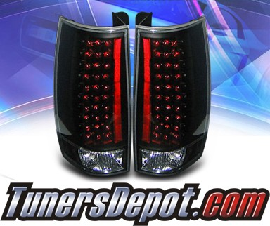 KS® LED Tail Lights (Black) (G3) - 07-13 Chevy Suburban