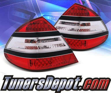KS® LED Tail Lights (Black Strip)- 03-06 Mercedes-Benz E350 W211