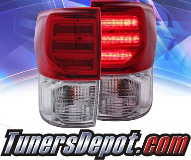 KS® LED Tail Lights (Gen 2) (Red/Clear) - 07-11 Toyota Tundra