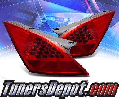 KS® LED Tail Lights (Red) - 03-05 Nissan 350Z