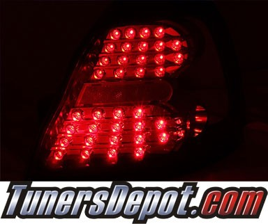 KS® LED Tail Lights (Red) - 04-08 Pontiac Grand Prix