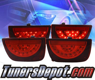 KS® LED Tail Lights (Red) - 10-13 Chevy Camaro