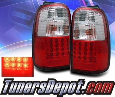 KS® LED Tail Lights (Red/Clear) - 01-02 Toyota 4Runner