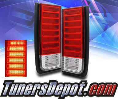 KS® LED Tail Lights (Red/Clear) - 02-07 Hummer H2
