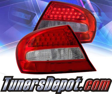 KS® LED Tail Lights (Red/Clear) - 03-05 Chrysler Sebring 2dr.