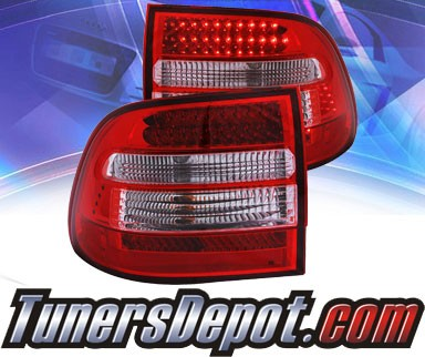 KS® LED Tail Lights (Red/Clear) - 03-06 Porsche Cayenne