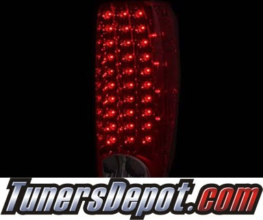 KS® LED Tail Lights (Red/Clear) - 04-12 Chevy Colorado