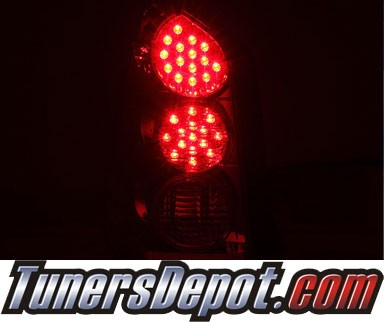 KS® LED Tail Lights (Red/Clear) - 05-06 Mazda Tribute