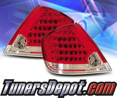 KS® LED Tail Lights (Red/Clear) - 05-07 Scion TC