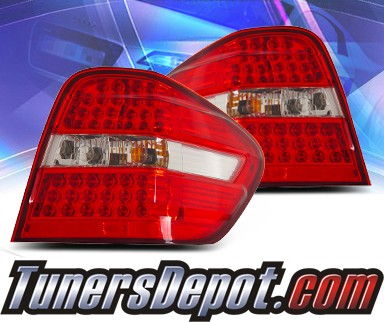 KS® LED Tail Lights (Red/Clear) - 06-08 Mercedes-Benz ML500 W164